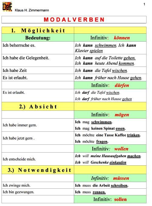 Deutsch grammatik ubungen 3